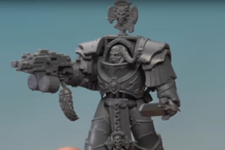 Cataphractii Terminator Kit Bash
