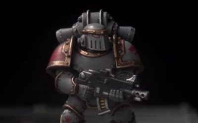 How to paint Heresy Space Wolves