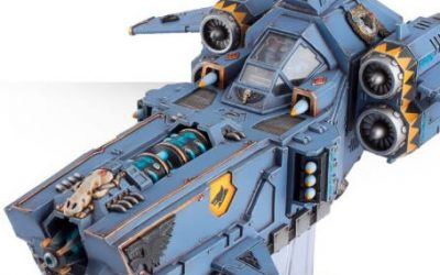 Stormfang Gunship Tactics