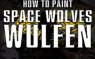 How to paint Space Wolves Wulfen