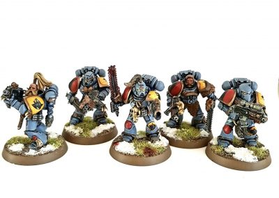BH Space Wolves - Grey Hunters 1