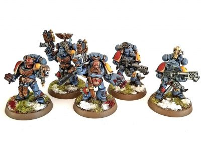 BH Space Wolves - Grey Hunters 2