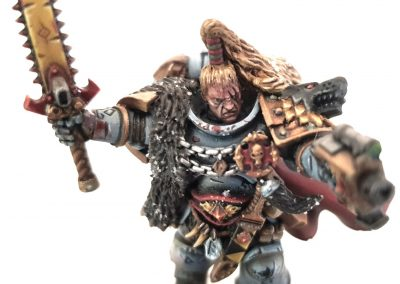 BH Space Wolves - Ragnar Blackmane 1