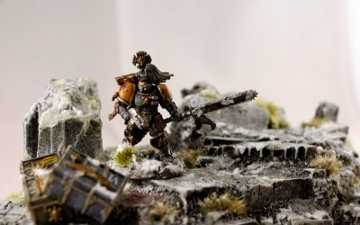 Army Showcase: C.J Sower's Space Wolves force