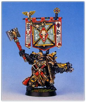 Neil Thomason 1996 Space Wolf Chaplain